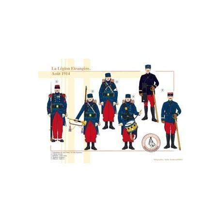 La Légion Étrangère, Août 1914
