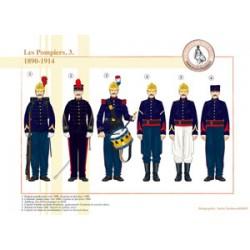Die französischen Feuerwehrmänner (3), 1890-1914
