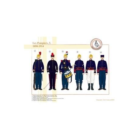 Les Pompiers (3), 1890-1914