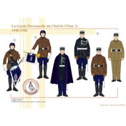 La Garde Personnelle du Chef de l'Etat (3), 1940-1944