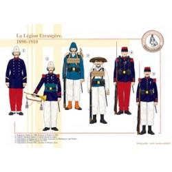Die französische Fremdenlegion, 1890-1910