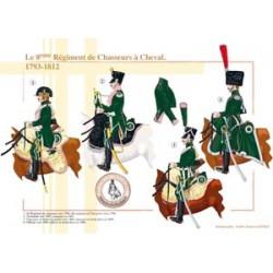 Das 8. französische Horse Chasseurs Regiment, 1793-1812
