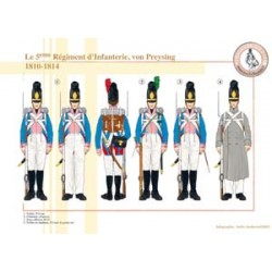 The 5th Bavarian Infantry Regiment, von Preysing, 1810-1814