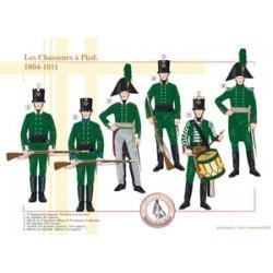 Die russischen Fußjäger, 1804-1811