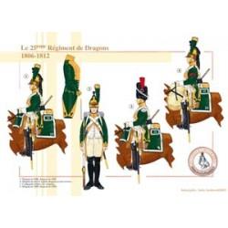 Das 25. französische Drachenregiment, 1806-1812