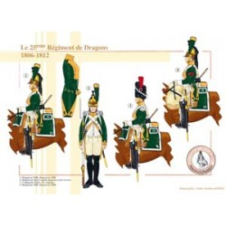 The 25th French Dragon Regiment, 1806-1812