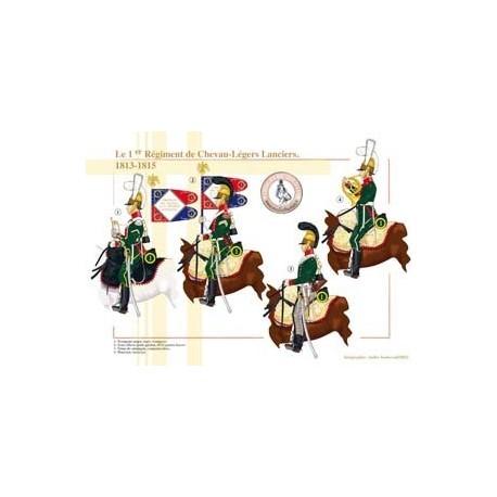 The French 1st Regiment of Chevau-Légers Lanciers, 1813-1815
