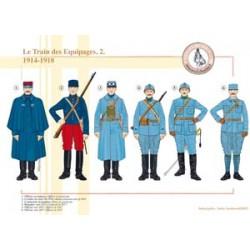 Der französische Mannschaftszug (2), 1914-1918