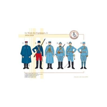 Le Train des Equipages (2), 1914-1918