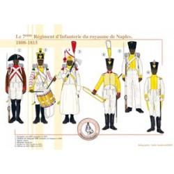 Das 7. Infanterieregiment des Königreichs Neapel, 1808-1815