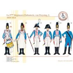 Das 5. Infanterieregiment, von Preysing (2), 1810-1814
