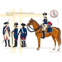 Mestre de Camp Général, the horseman, 1786-1791