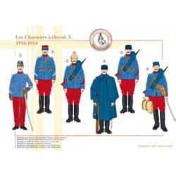Les Chasseurs à cheval (3), 1910-1914