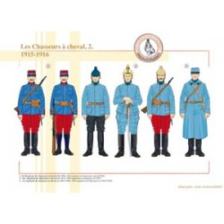 Die französischen berittenen Jäger (2), 1915-1916