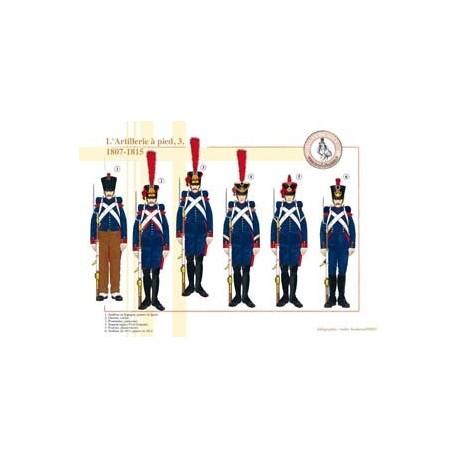L'Artillerie à pied (3), 1807-1815
