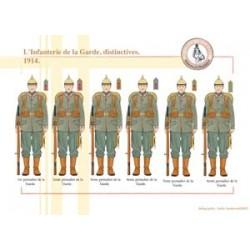 Preußische Gardeinfanterie, unverwechselbar, 1914