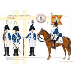Die Drachen von Pritwitz Nr. 2, 1790-1806