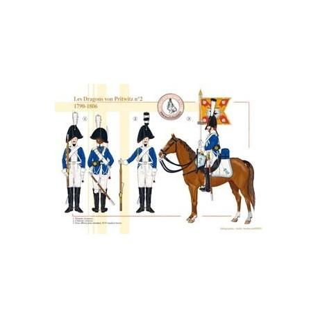 The Dragons von Pritwitz n ° 2, 1790-1806