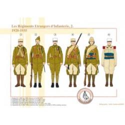Die ausländischen Infanterieregimenter (2), 1920-1935