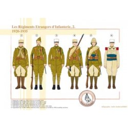 The Foreign Infantry Regiments (2), 1920-1935