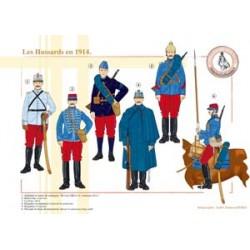 Die Französisch-Husaren 1914