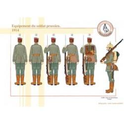 Equipement du soldat prussien, 1914