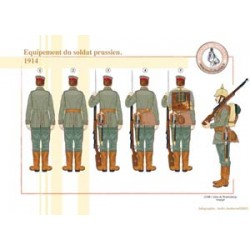 Equipment of the Prussian soldier, 1914