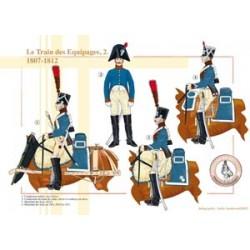 Le Train des Équipages (2), 1807-1812