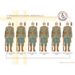 Prussian Guard Infantry, distinctive (2), 1914