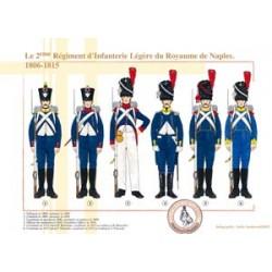 Das 2. leichte Infanterie-Regiment des Königreichs Neapel, 1806-1815