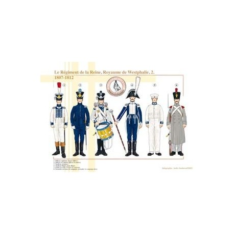 The Queen's Regiment, Kingdom of Westphalia (2), 1807-1812