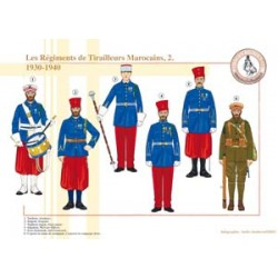 The Moroccan Tirailleurs Regiments (2), 1930-1940