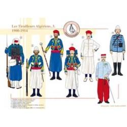 Les Tirailleurs Algériens (3), 1900-1914