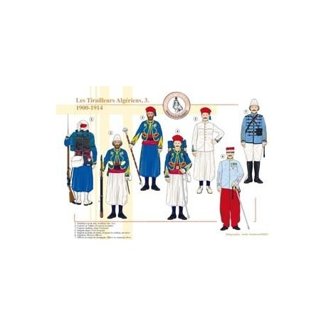 The Algerian Tirailleurs (3), 1900-1914