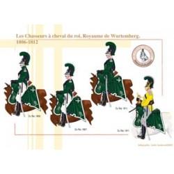 Les Chasseurs à cheval du roi, Royaume de Wurtemberg, 1806-1812