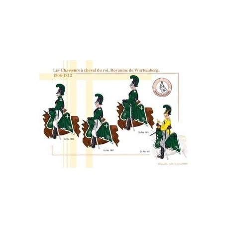 The King's Hunters on Horseback, Kingdom of Württemberg, 1806-1812