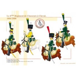 Das 4. französische Chasseurs à Cheval Regiment, 1804-1808