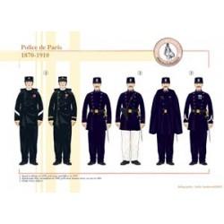 Polizei von Paris, 1870-1910