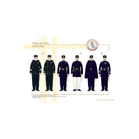 Police de Paris, 1870-1910