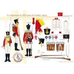 The regulations of 1812 for the Swiss Fusilier