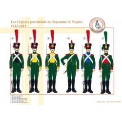 Die Provinzlegionen des Königreichs Neapel, 1812-1815