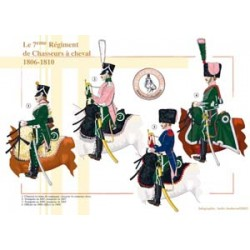 Das 7. Regiment der Chasseurs à cheval, 1806-1810