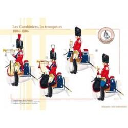 Die französischen Carabiniers, die Trompeten, 1804-1806