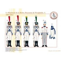 Das Regiment der Königin, Königreich Westfalen (3), 1807-1812