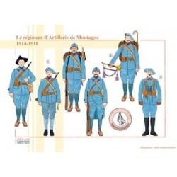 The Mountain Artillery Regiment, 1914-1918