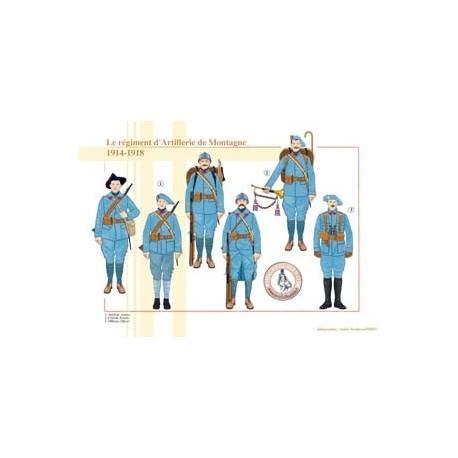 Le Régiment d'Artillerie de Montagne, 1914-1918