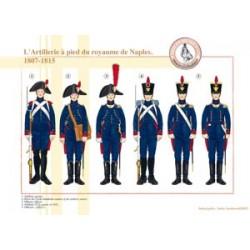 Die Fußartillerie des Königreichs Neapel, 1807-1815