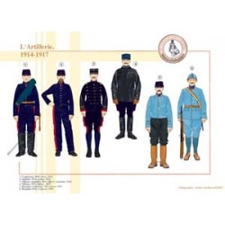 L'Artillerie française, 1914-1917