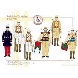 Die französische Fremdenlegion, 1920-1935