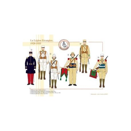 La Légion Étrangère, 1920-1935